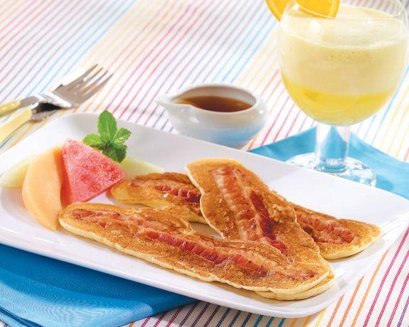 Bacon Pancakes | Recipes | Pinterest