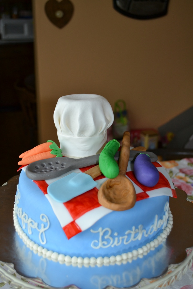Birthday Chef Cake #wiltoncontest Cake (Chef & Baker ...