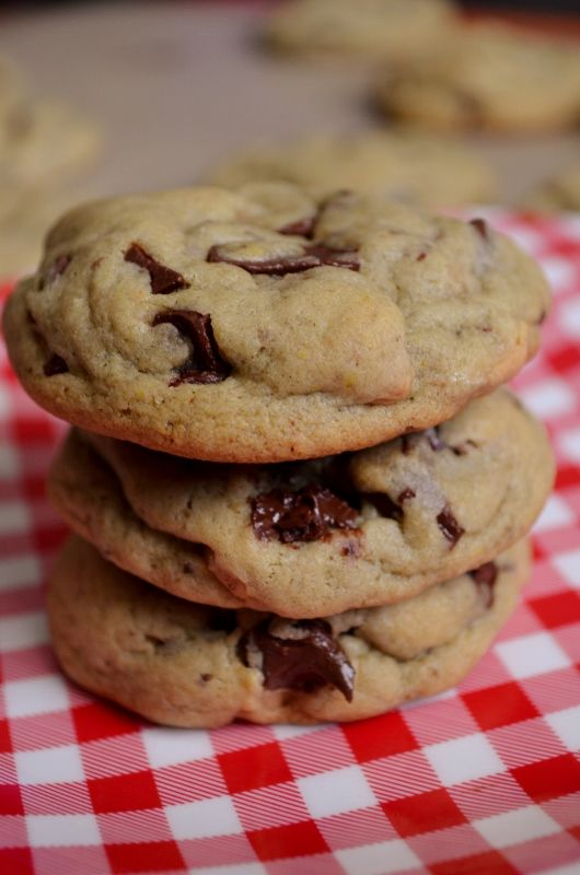 Chocolate Chip Pudding Cookies | Food | Pinterest