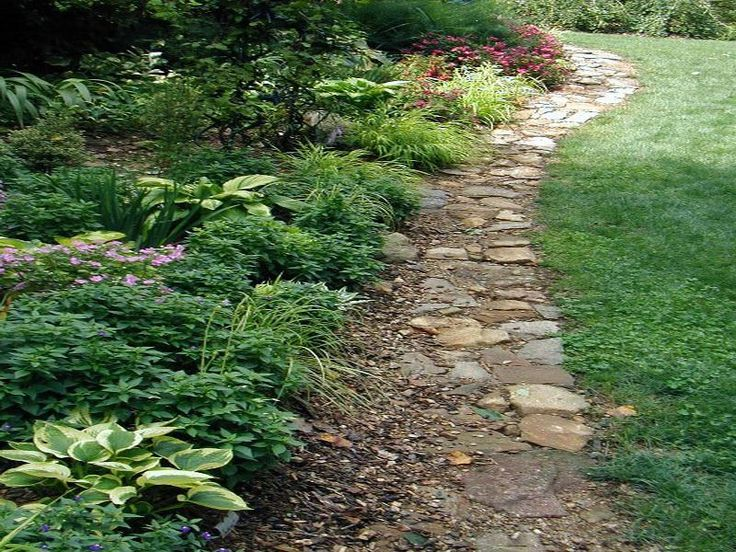 Ideas Landscaping Edging Stones Garden Pinterest