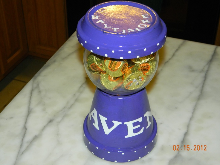 Baltimore Ravens Candy Dish
