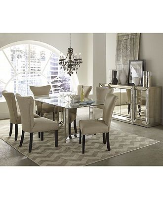 mirrored dining room furniture collection dining room furniture