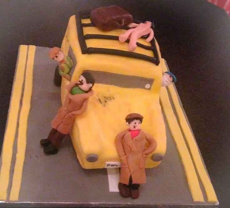 Pin by colette dixon on colette 39 s cakes pinterest - Only fools and horses bonnet de douche ...
