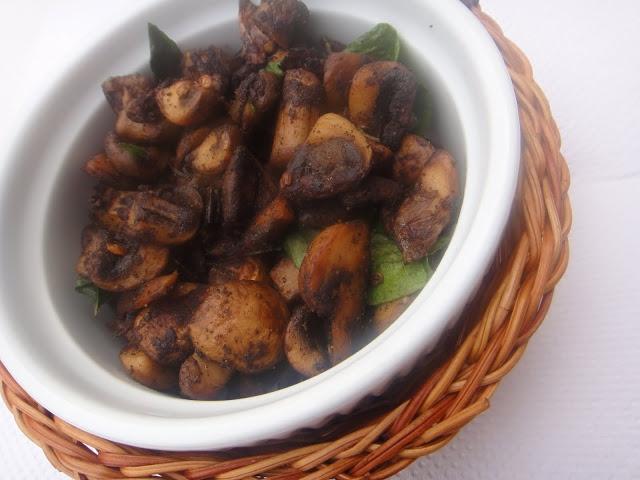 Pepper Mushroom Fry | India Recipes | Pinterest