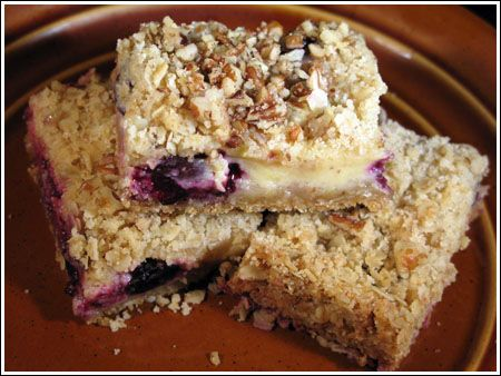 lemon blueberry bars | Recipes: Desserts | Pinterest