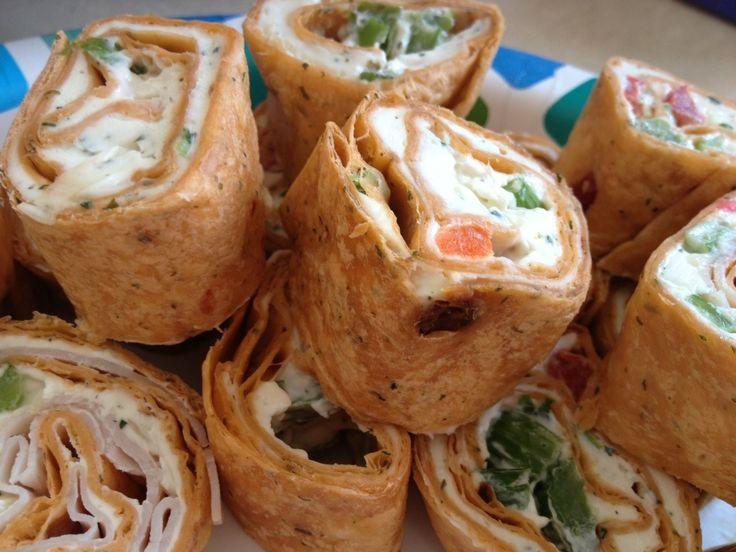 Ranch Tortilla Rollups | Appetizers | Pinterest