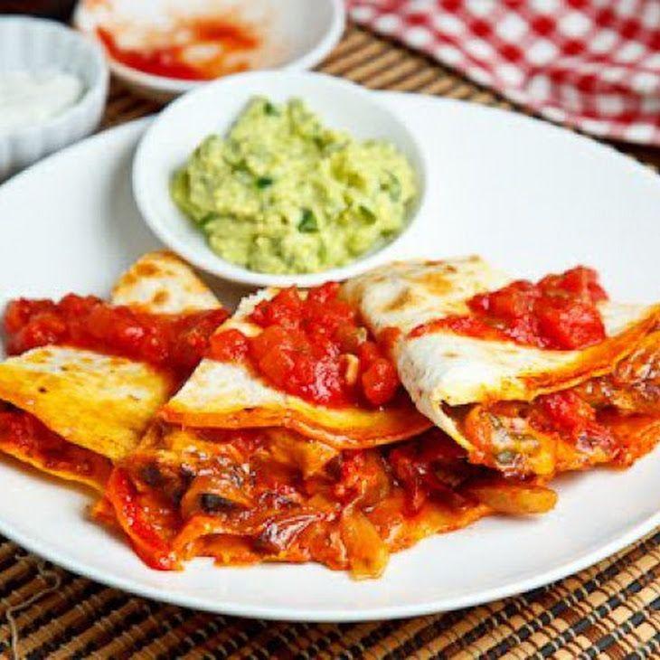 Chicken Fajita Quesadillas | Mexican Yummies | Pinterest