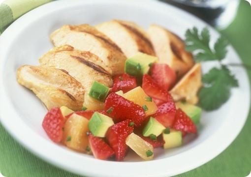 Strawberry And Avocado Salsa Recipe — Dishmaps