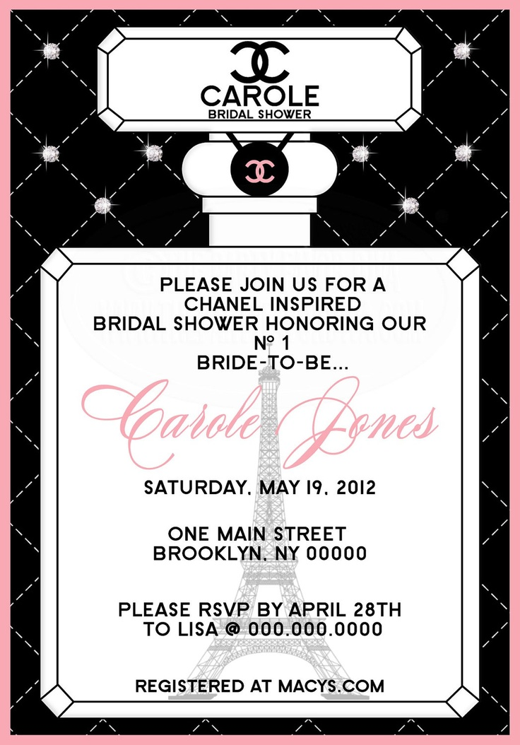 Paris Themed Invitations was awesome invitations sample