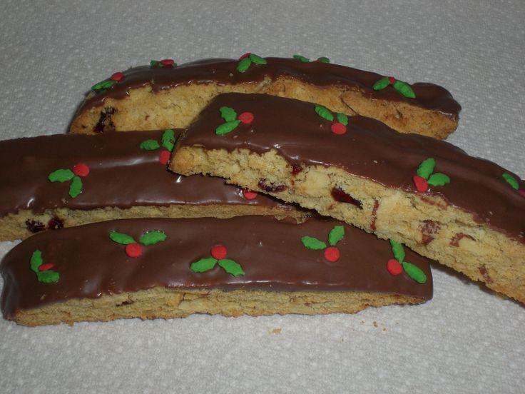 Cranberry Almond Biscotti | Christmas | Pinterest
