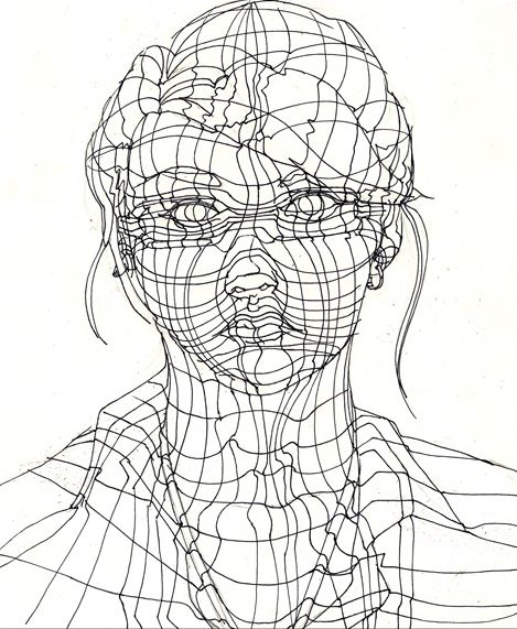Contour Line Drawing Figure : Pin by sarah rowland on figure drawing forms pinterest