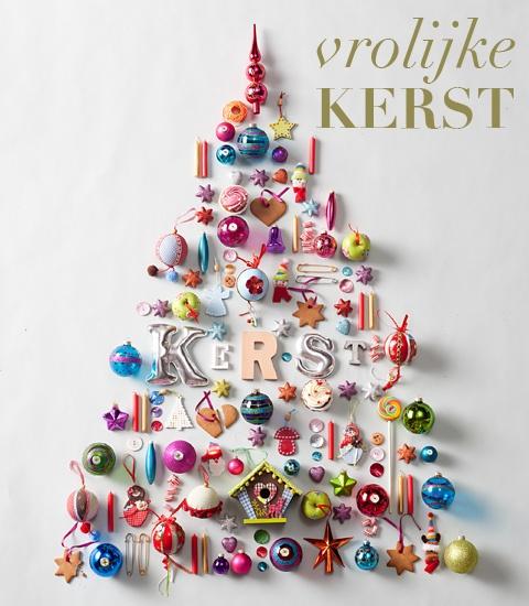 colorful tree Christmas DIY Pinterest