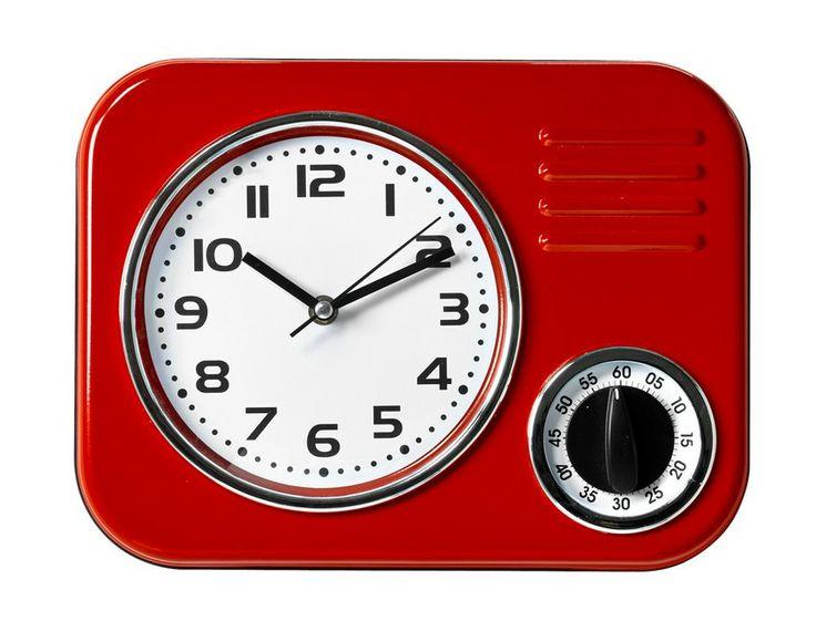Retro Koksklocka : retro koksklocka  Voggklocka retro Rod koksklocka med timer