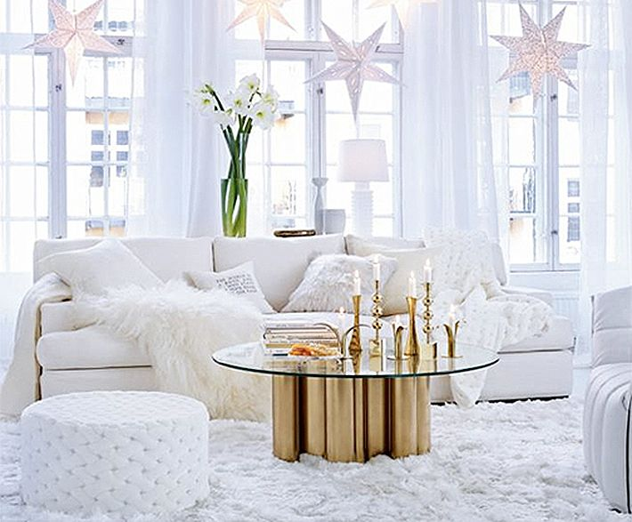 White christmas decorations - White Modern Christmas Decorations White Pinterest