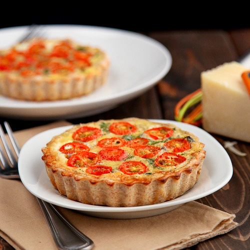Healthy Whole Wheat Vegetable Quiche click here for recipe