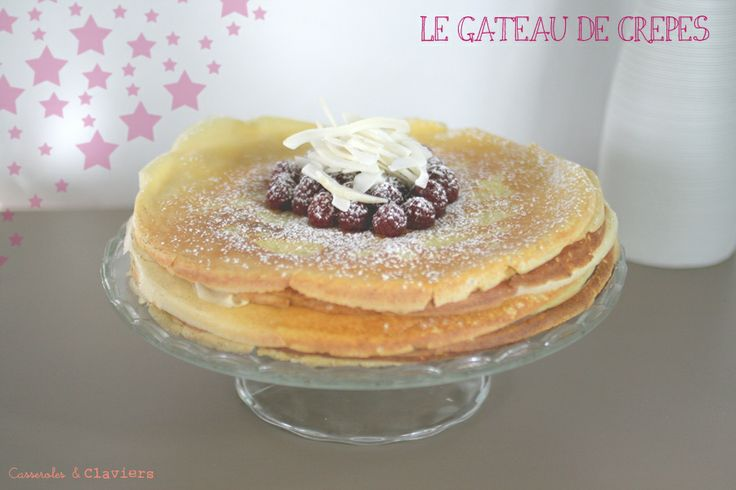 gateau de crepes | Gateau | Pinterest