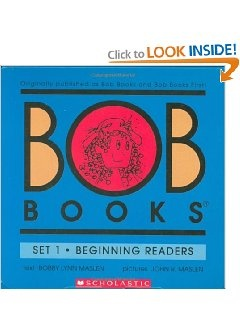 Bob Books are a Great, FUN, way to teach your kids to read!