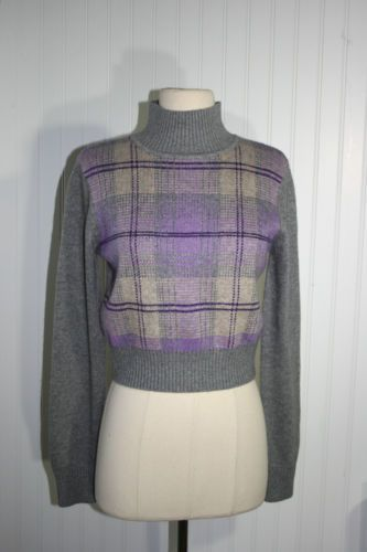 Reiss Tartan Sweater Jumper s M | eBay
