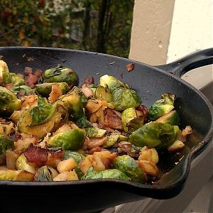 Brussels Sprouts with Apples and Bacon. (I know Brussels Sprouts gets ...