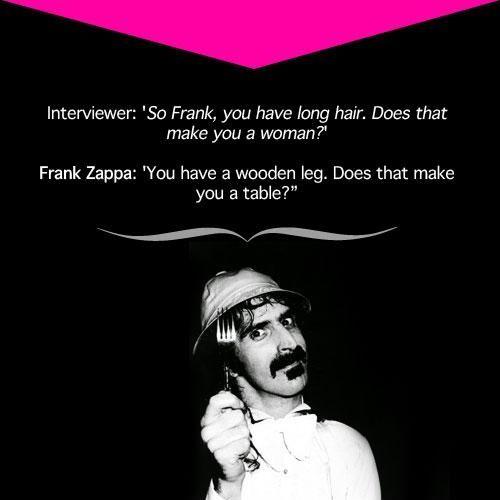 Frank Zappa Quotes Quotesgram