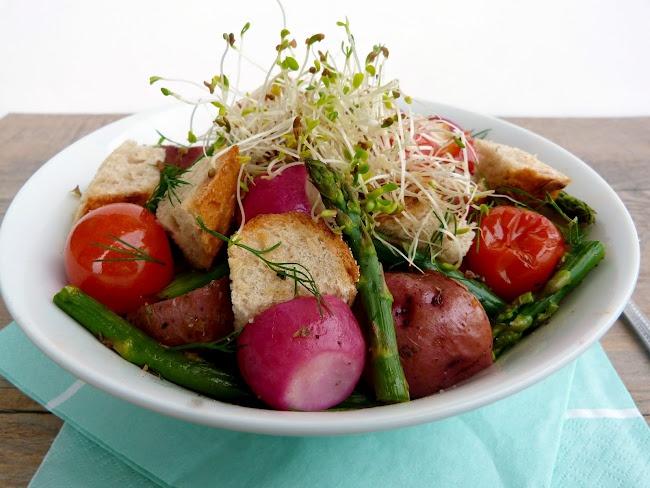 Vanilla & Spice: Spring Panzanella | Soups & Salads | Pinterest