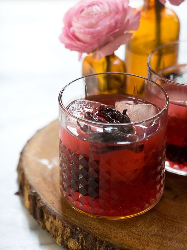 Hibiscus Flower Tea (Agua de Jamaica) | Drink | Pinterest