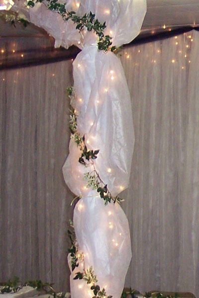 Elegant Tulle Wedding Decorations
