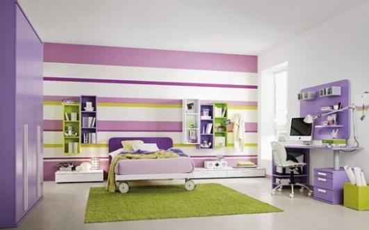 Big Girl Room Ideas Purple And Green Kidlets Pinterest