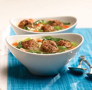 Chicken Meatball Italian Wedding Soup | Soups | Pinterest