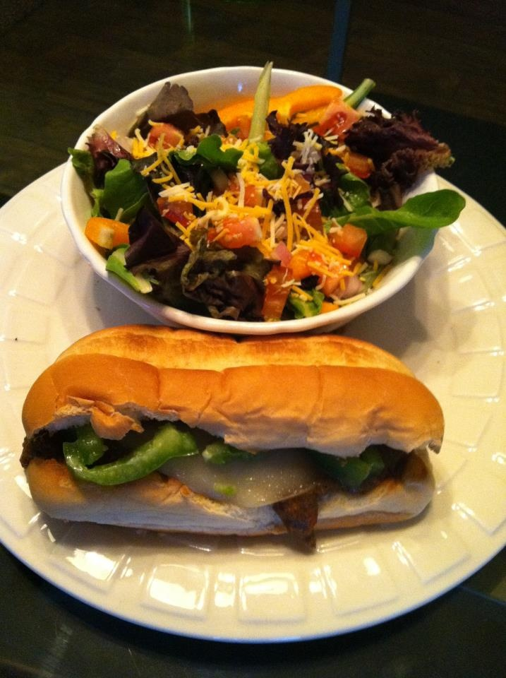 Slow Cooker Philly Cheese Steak and Side Salad- and a pinch of love ...