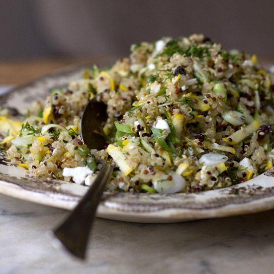 Quinoa with Currants, Dill, and Zucchini | Recipe