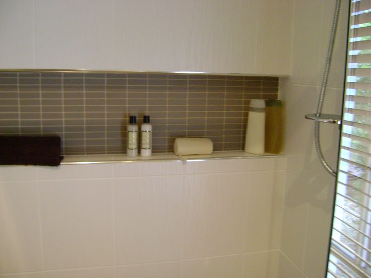 Innovative Bathroom Tile Shower Shelves Recessed Shampoo Niches  Home Design