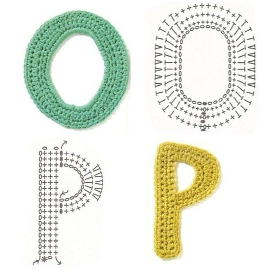Crocheting Letters : Crochet Letters Crochet - Cool/Cute things Pinterest