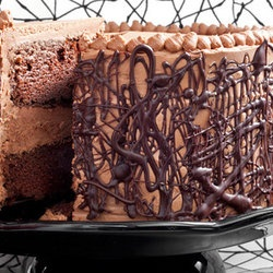 ... Chocolate Cake with Whipped Fudge Filling and Chocolate Buttercream