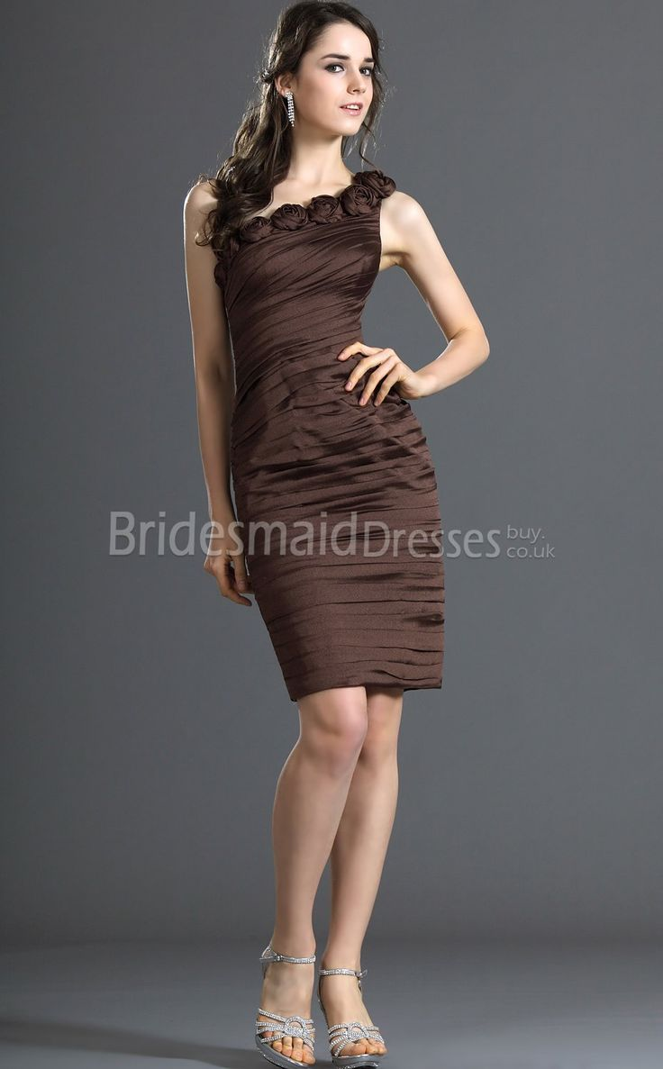 Brown Bridesmaid Dresses Cheap 91
