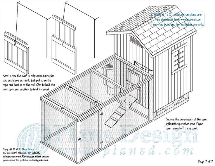 free chicken run plans chickens pinterest