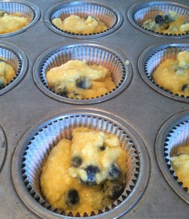 Coconut honey blueberry muffins | Breakfast | Pinterest