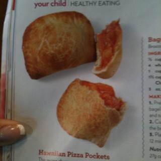 Hawaiian Pizza Pockets: cannot wait to try! 1 cup shredded mozzarella ...
