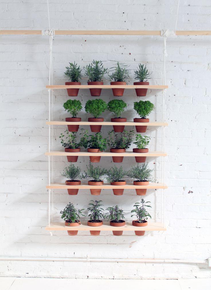 Diy Hanging Herb Garden Via Ryobi Nation 400 x 300