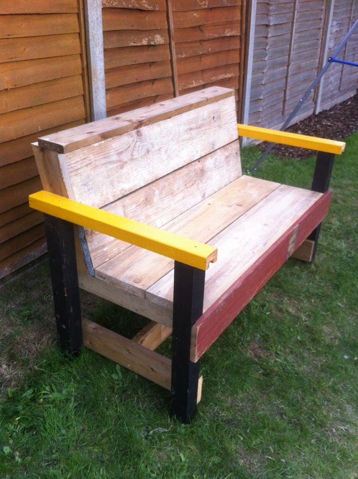 DIY Garden Bench Garden Pinterest
