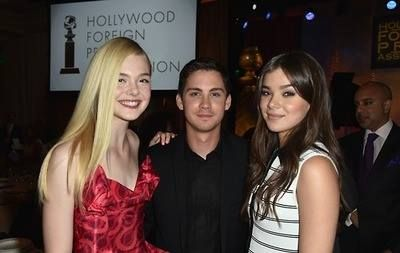 Elle FanningElle Fanning And Logan Lerman