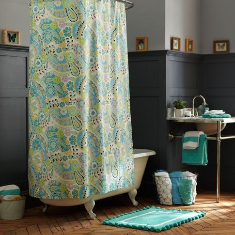 Reese 39 S Bathroom Green And Blue Decor Galore Pinterest