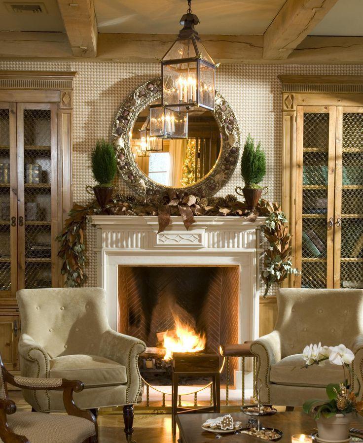 gorgeous fireplace mantel