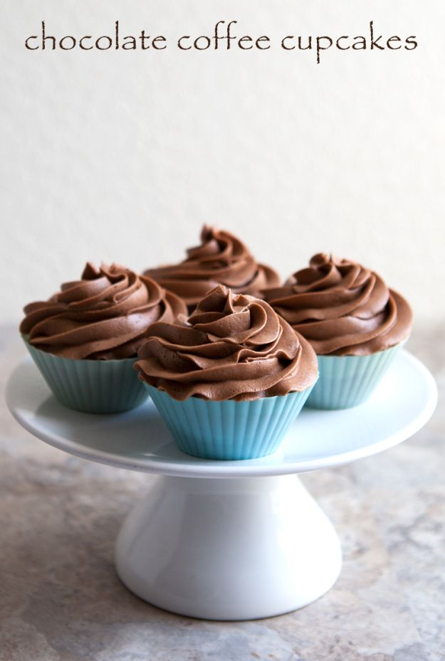 chocolate coffee cupcakes #cupcake #coffee