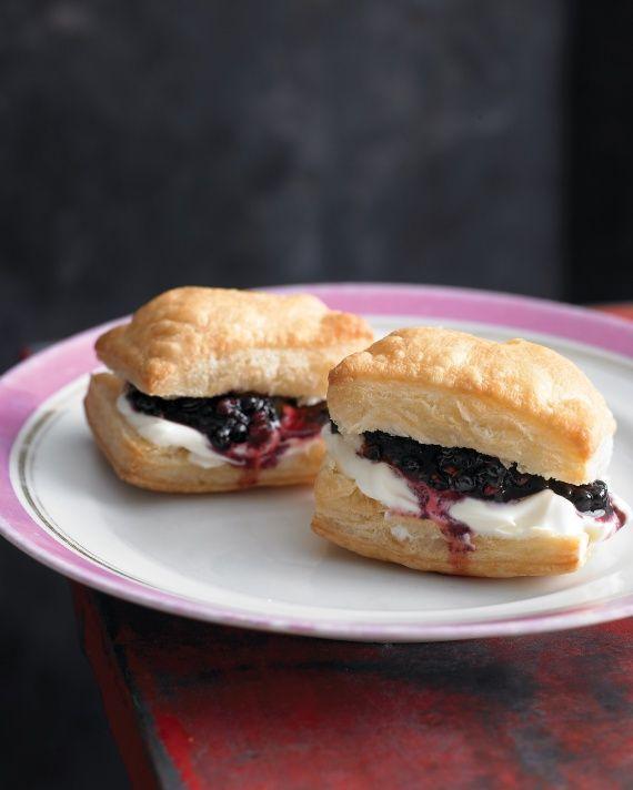 Blackberry Puffs | Desserts | Pinterest