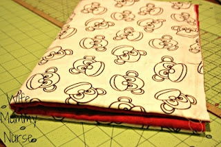 Save money on cloth diapers by making your own.