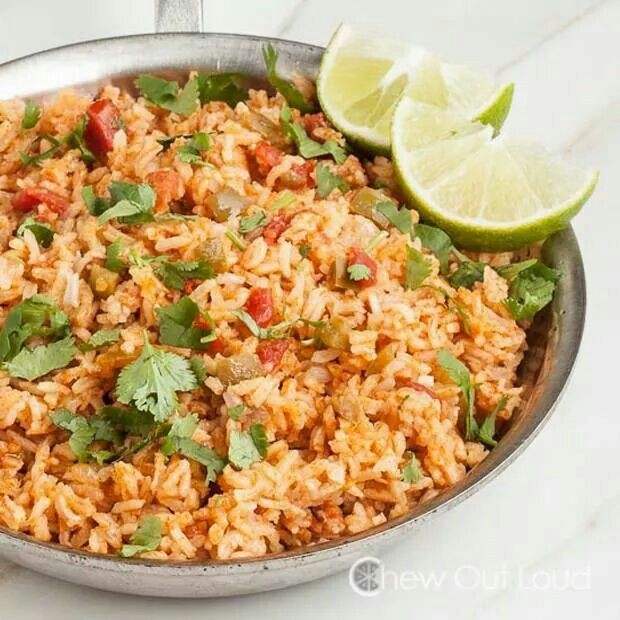 Mexican rice | Recipes | Pinterest