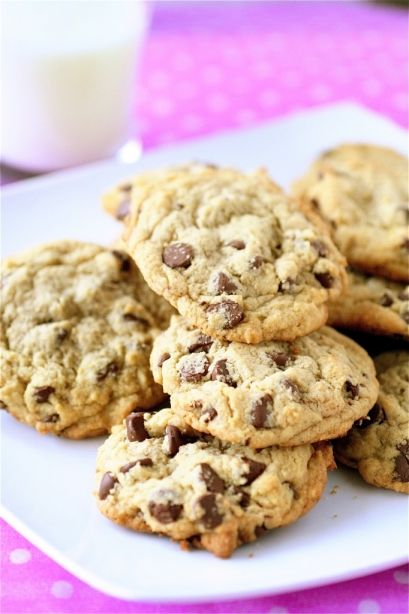 Soft & Chewy Chocolate Chip Cookies | Food& Beverage | Pinterest