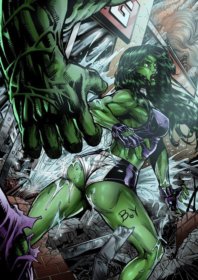 She-hulk две картинки фэндомы
