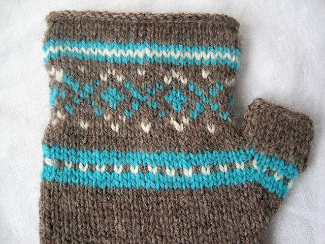 fair isle fingerless gloves Knitspiration (and crochet too!) Pint?